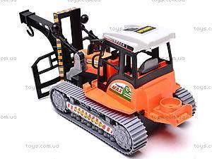Инерционный детский трактор, 666-30B, фото
