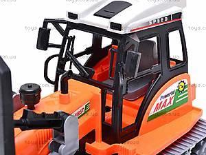 Инерционный детский трактор, 666-30B, отзывы
