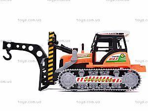 Инерционный детский трактор, 666-30B, цена
