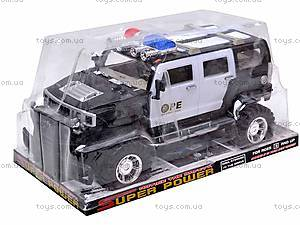 Инерционный джип «Полиция», 686-20, купить