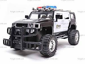 Инерционный джип «Полиция», 686-20, фото