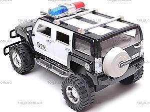 Инерционный джип «Полиция», 686-20, отзывы
