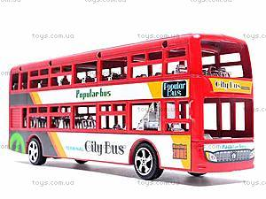 Инерционный двухэтажный автобус, 065-2, отзывы