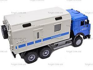 Инерционный фургон «Милиция», 9119C, купить