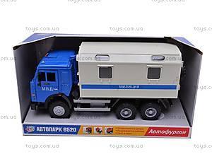 Инерционный фургон «Милиция», 9119C, фото