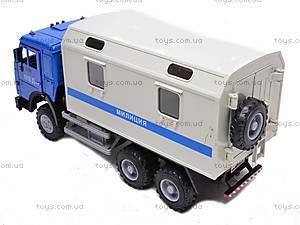 Инерционный фургон «Милиция», 9119C, отзывы