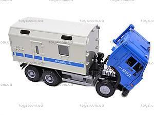 Инерционный фургон «Милиция», 9119C, цена