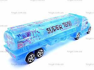 Инерционный грузовик-бензовоз, 3198A-19, купить