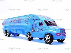 Инерционный грузовик-бензовоз, 3198A-19