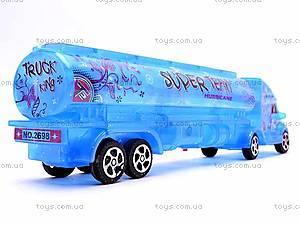 Инерционный грузовик-бензовоз, 3198A-19, фото