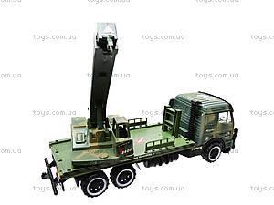 Инерционный грузовик, с краном , 668-7, купить