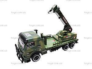 Инерционный грузовик, с краном , 668-7, фото