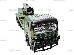 Инерционный грузовик, с краном , 668-7, цена