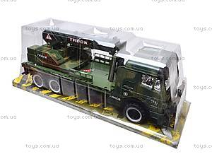 Инерционный грузовик, с краном , 668-7