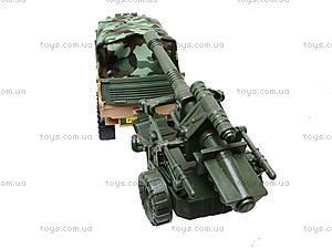 Инерционный грузовик с военной техникой, 6107, купить