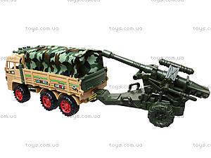 Инерционный грузовик с военной техникой, 6107, отзывы