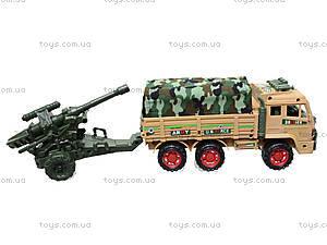 Инерционный грузовик с военной техникой, 6107, цена
