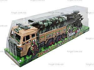 Инерционный грузовик с военной техникой, 6107