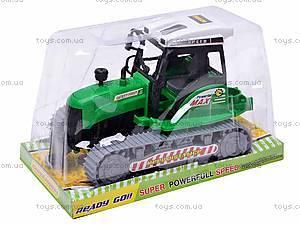 Инерционный гусеничный трактор, 666-18C, купить