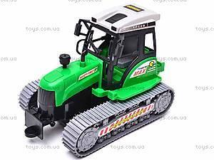 Инерционный гусеничный трактор, 666-18C