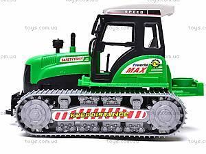 Инерционный гусеничный трактор, 666-18C, фото