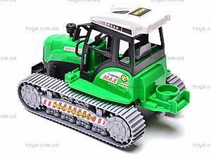 Инерционный гусеничный трактор, 666-18C, отзывы
