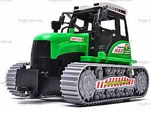 Инерционный гусеничный трактор, 666-18C, цена