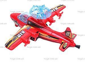 Инерционный игровой самолет, 899-3, фото