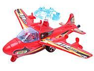 Инерционный игровой самолет, 899-3, магазин игрушек