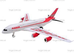 Инерционный игрушечный самолет «Airbus», 768-1