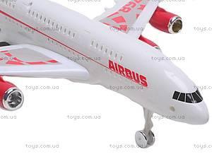 Инерционный игрушечный самолет «Airbus», 768-1, отзывы