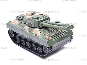 Инерционный игрушечный танк, 6603-9, купить