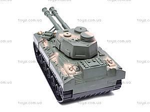 Инерционный игрушечный танк, 6603-9, фото