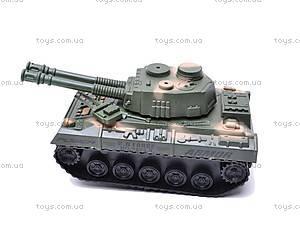 Инерционный игрушечный танк, 6603-9