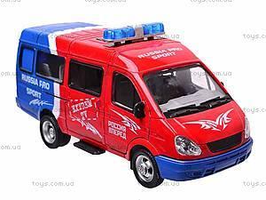 Инерционный микроавтобус «Автоспорт», 9098-B