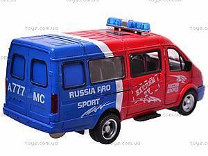 Инерционный микроавтобус «Автоспорт», 9098-B, фото
