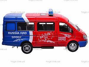 Инерционный микроавтобус «Автоспорт», 9098-B, отзывы