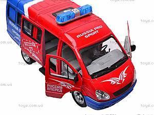 Инерционный микроавтобус «Автоспорт», 9098-B, цена