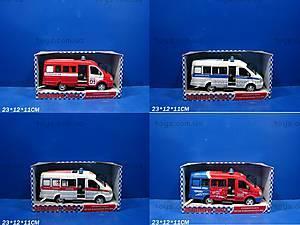 Инерционный микроавтобус «Милиция», 9098D