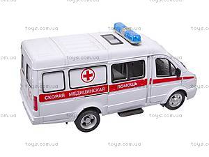 Инерционный микроавтобус «Скорая помощь», 9098-C, игрушки