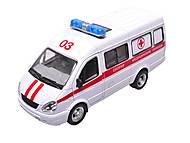 Инерционный микроавтобус «Скорая помощь», 9098-C, фото