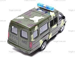 Инерционный микроавтобус «Военный», 9098-F, купить