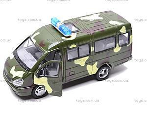 Инерционный микроавтобус «Военный», 9098-F, фото