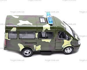 Инерционный микроавтобус «Военный», 9098-F, отзывы