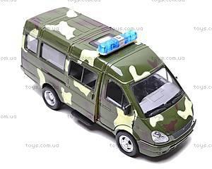 Инерционный микроавтобус «Военный», 9098-F