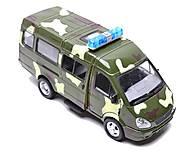 Инерционный микроавтобус «Военный», 9098-F, купить игрушку