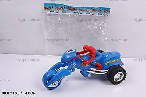 Инерционный мотоцикл «Человек-паук», 8028A