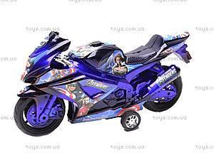 Инерционный мотоцикл, детский, 909-14/909-16