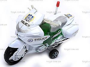 Инерционный мотоцикл «Полиция», HR628
