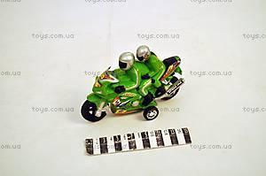 Инерционный мотоцикл, с 2-мя гонщиками, 2027